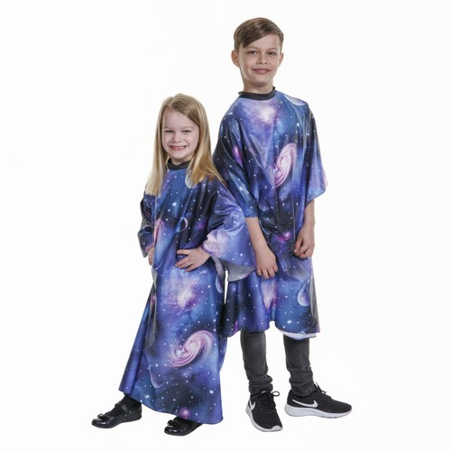 2638 - Child's Galaxy Cape childs salon wear