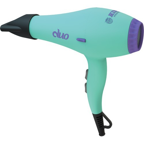 8305A-P - Kiepe duo Hair Dryer - Aqua & Purple