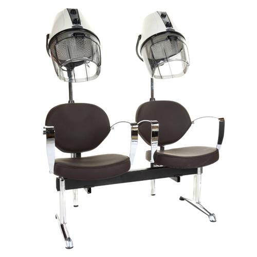 Hairdressing Dryer Banks Milano 2 Seat Dryer Bank