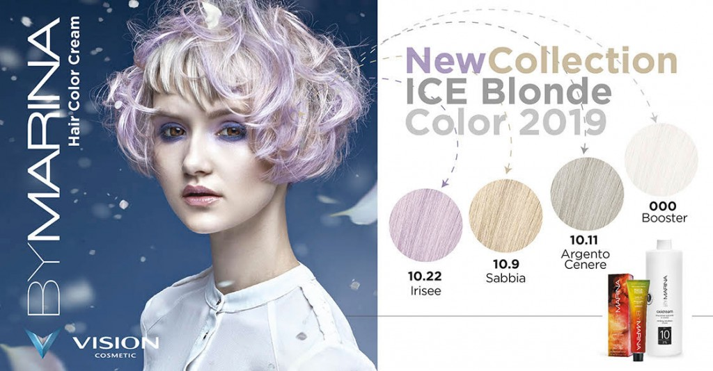 Vision Cosmetic Ice Blonde Range