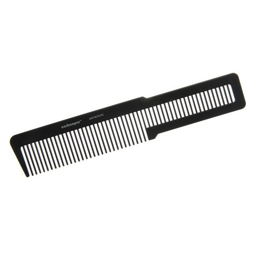 KW010 - Carbonpro Carbon Antistatic Barbers Clipper Comb