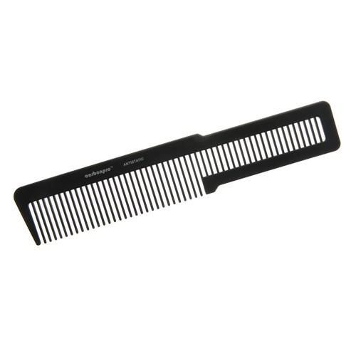 KW010 - Carbonpro Carbon Antistatic Barbers Clipper Comb