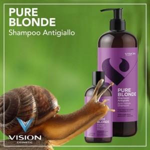 Pure Blonde Snail Slime SHampoo