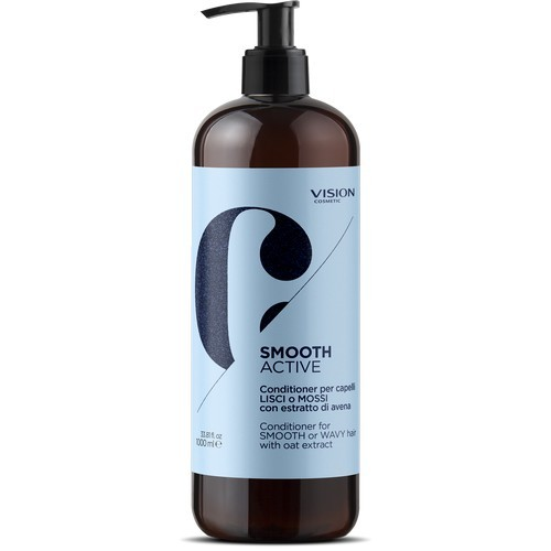 Conditioner for SMOOTH or WAVY hair with oat extract