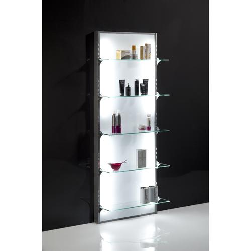 Firenze Backlit Display Unit Crewe Orlando Salon Amp Barber Supplies